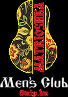 Лого стриптиз клуб Матрешка